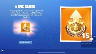 CLAIM the 15 LEVELS of the FREE BATTLE PASS in Fortnite! * RIGHT NOW *