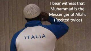 Muslim call to prayer