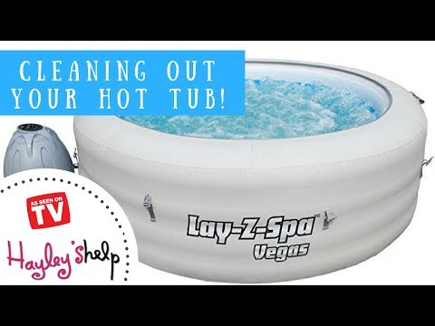 How To Clean & Deflate Your Lay Z Spa Hot Tub!
