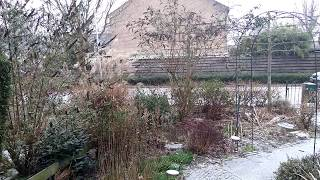 Het is net gaan sneeuwen op het 3-provinciënpunt: Overijssel-Drenthe-Friesland. @snowinholland