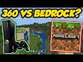 Minecraft Xbox 360 Edition vs Bedrock - Is It Really So Different?