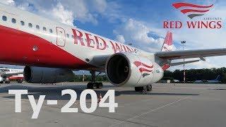 Перелет Воронеж - Сочи на Ту-204 а/к Red Wings