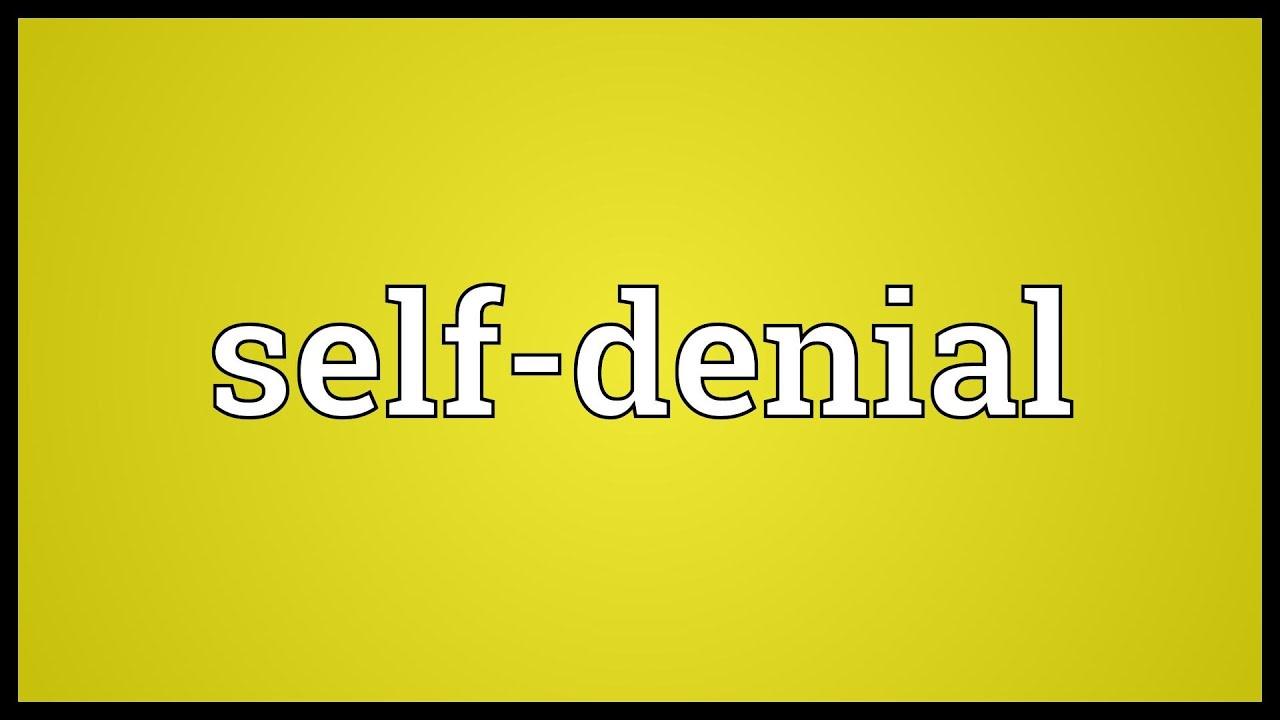 Image result for SELF-DENIAL