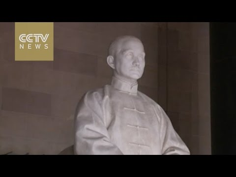 How is Sun Yat-sen's legacy bringing people together on both sides of Taiwan Strait