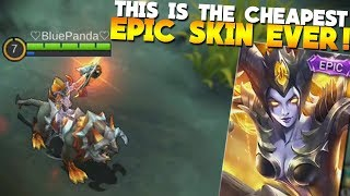 NEW EPIC Irithel Skin Gameplay/Review Mobile Legends (Hellfire)