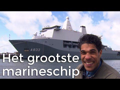 STE - Het grootste schip van de marine