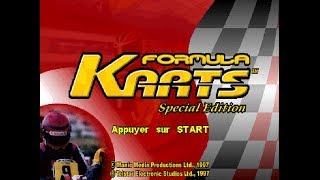 "GAMEPLAY FORMULA KARTS SPECIAL EDITION ELF MASTERS @ SONY PLAYSTATION + TV SUPER TRINITRON 29"" RGB"