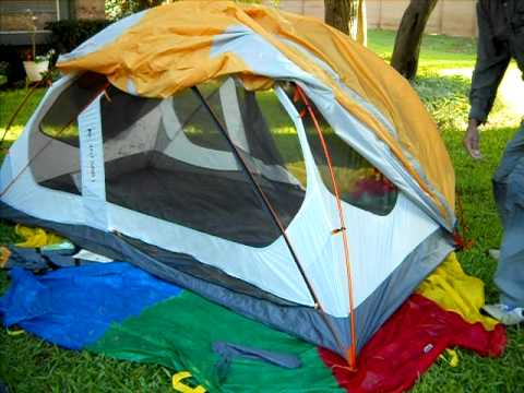 Ten Minute Tent: REI Half Dome 2 (Newest Model 2010) Quick Tent Pitch