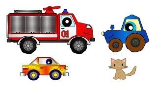 Мультики для детей. Мультфильм про пожарную машину.  Капуки Кануки(Мультфильм для детей про добрую пожарную машину. Жила-была пожарная машина, она была очень ответственная,..., 2015-01-03T07:11:22.000Z)