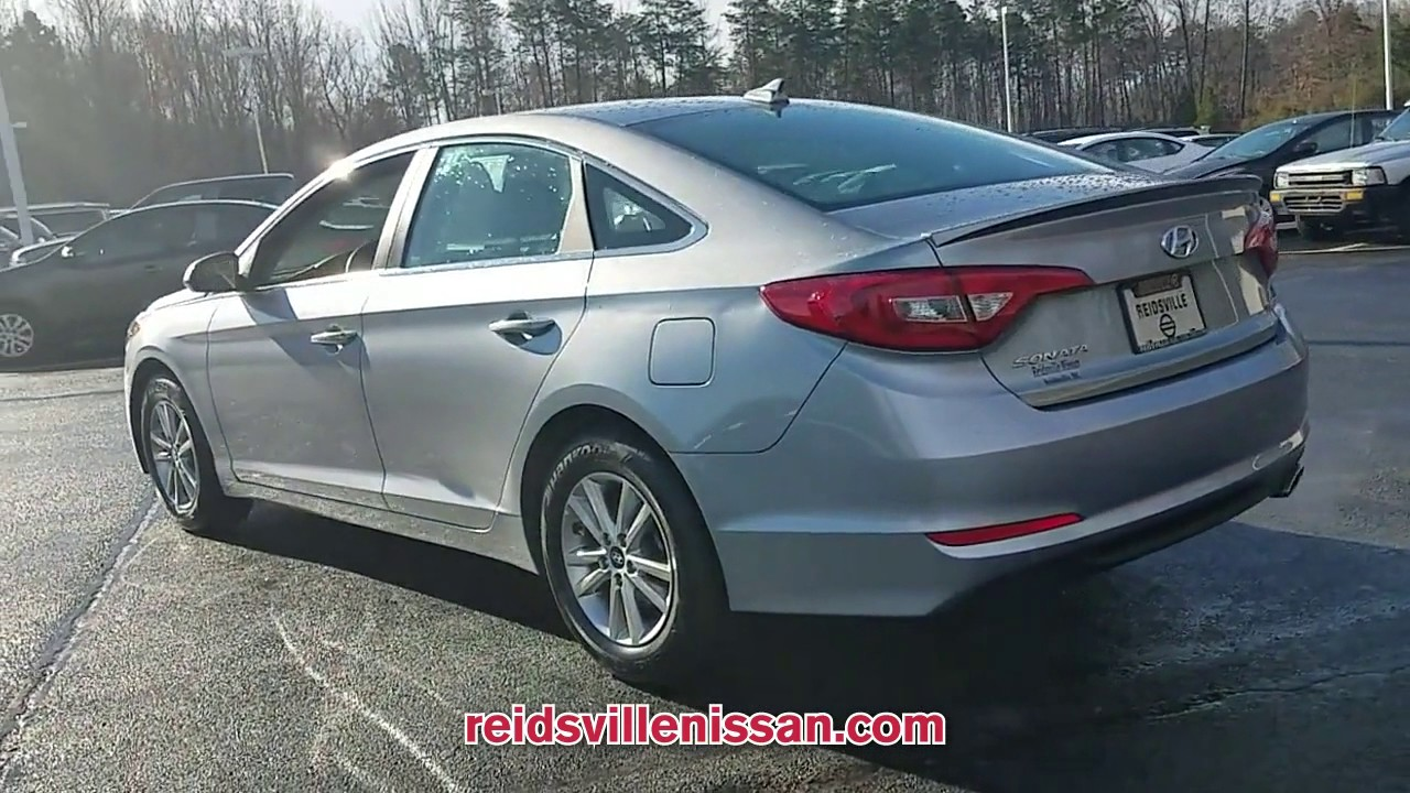 used 2017 hyundai sonata 2 4l at reidsville nissan used p8687 youtube. Black Bedroom Furniture Sets. Home Design Ideas