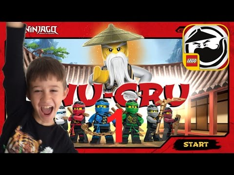 LEGO Ninjago WU-CRU Training + Level 1 + Level 2  Zane App Spiel deutsch gratis
