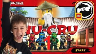 LEGO Ninjago WU-CRU Training + Level 1 + Level 2  Zane App Spiel deutsch gratis