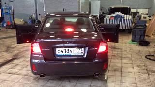 Шумоізоляція дверей автомобіля Subaru Legacy (Бюджет)