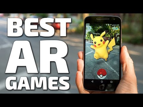 Top 6 Best AR Games Android - IOS (Augmented Reality Games)