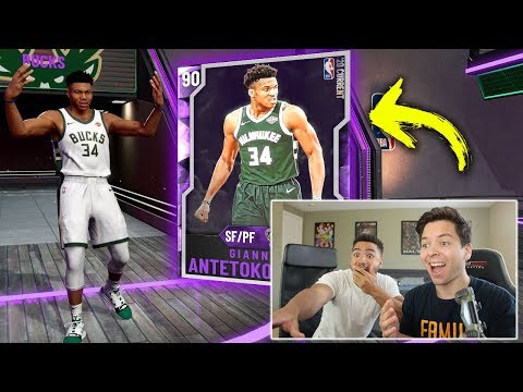 I PULLED GIANNIS & LEBRON JAMES IN CRAZY NBA 2K20 PACK OPENING!