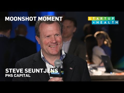 Let's Be Proactive With Healthcare – Steve Seuntjens' Moonshot Moment