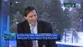 Low Interest Environment Hurting Our Pension System, Dutch Finance Minister