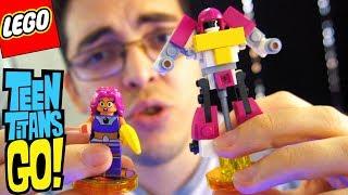MONTANDO LEGO JOVENS TITÃS EM AÇÃO - A ESTELAR E O ROBÔ DOS TITÃS