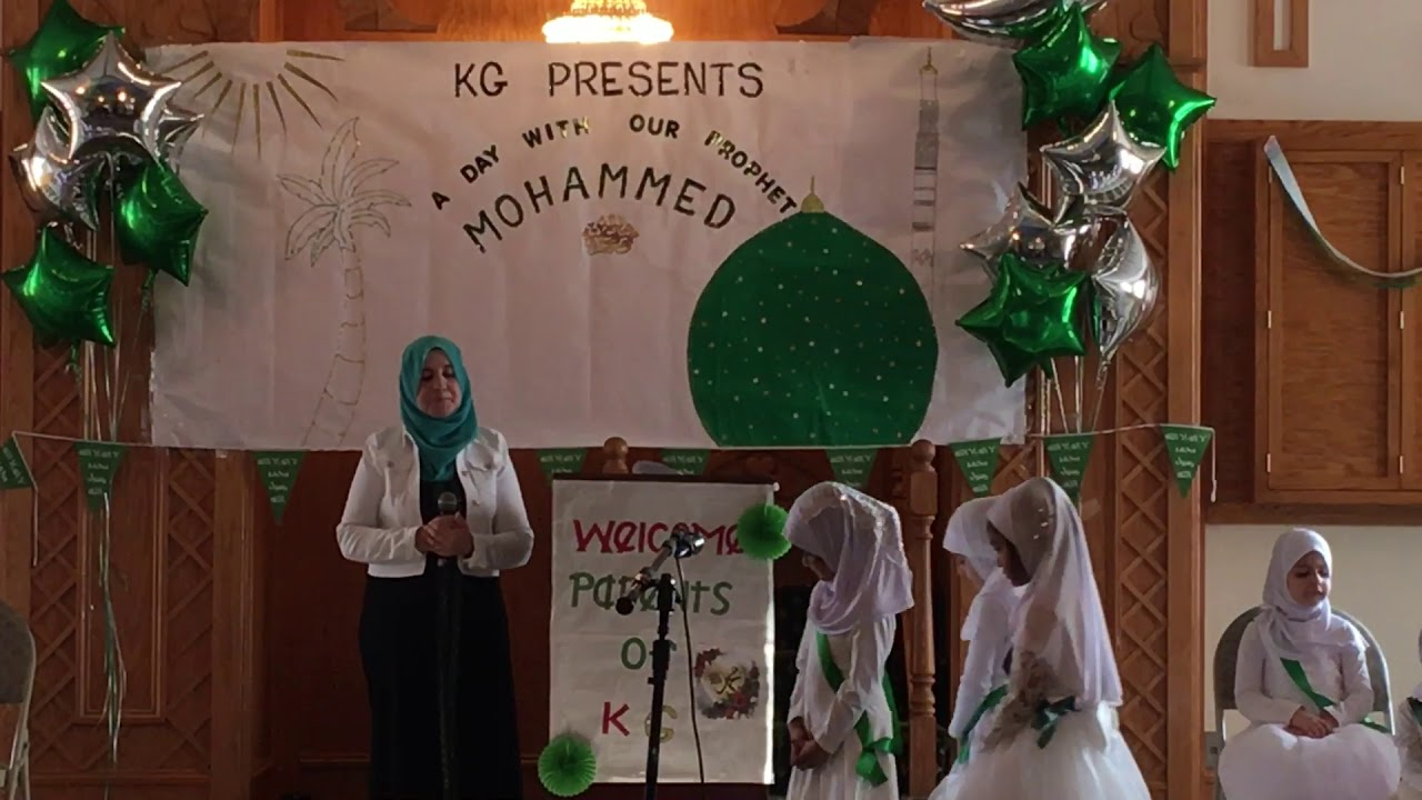 A Day with my Prophet (S A W) by Kindergarten students of An-Noor Academy
