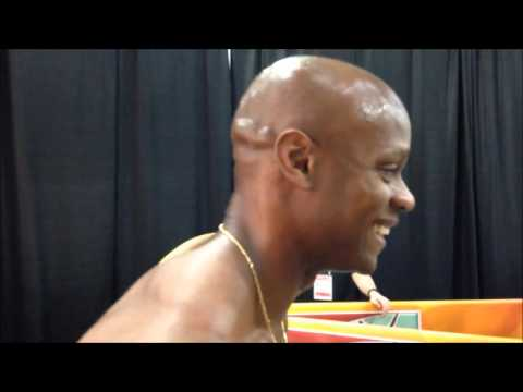 Asafa Powell After First Round Of 60m At 2016 World Indoor Champs