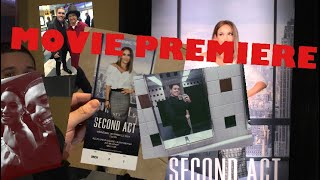 I GOT INVITED TO SECOND ACT MOVIE PREMIERE JLO VANESSA HUDGENS WILDCATS HIGH SCHOOL MUSICAL VLOG