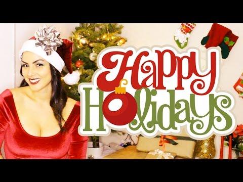 Happy Holidays!! Christmas Medley - Winter Wonderland, All I Want for Xmas & More