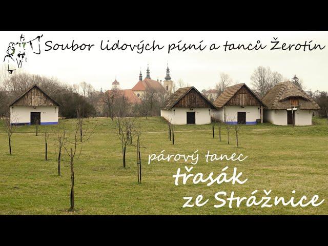 SLPT Žerotín - Párový tanec třasák ze Strážnice