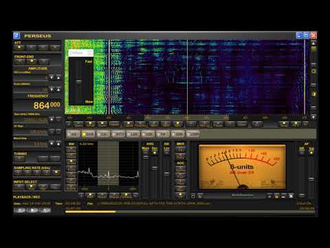 864 kHz Egypt Medium Wave DX Heard in West Michigan on Perseus SDR