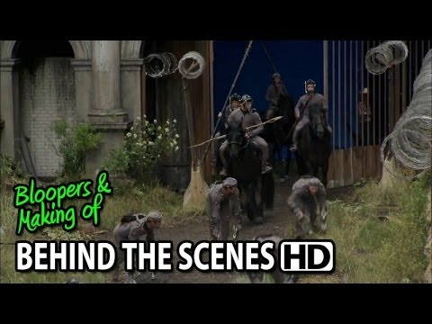 Dawn of the Planet of the Apes (2014) Making of & Behind the Scenes (Part1/2)
