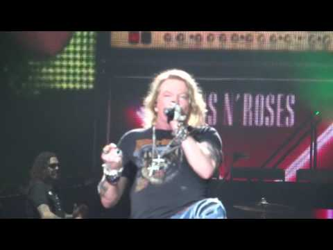 Welcome to the jungle - Guns n Roses - São Paulo - 12/11/16