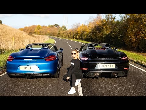 718 vs 981 Boxster Spyder - Is It Time To Buy A Porsche?