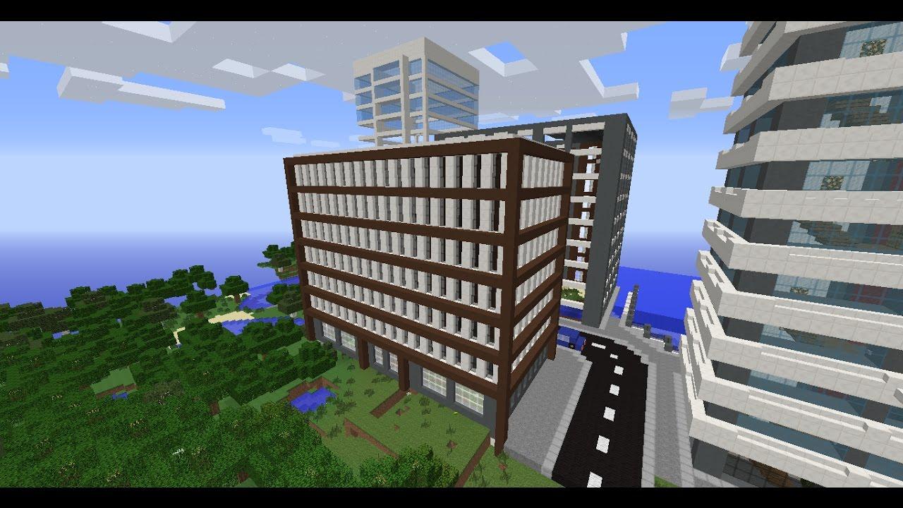 Minecraft construction d une ville 1 youtube - Video de minecraft construction d une ville ...