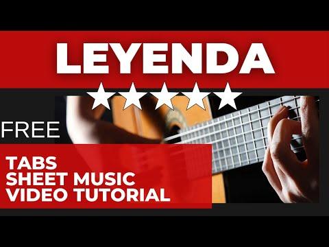 Learn to Play Leyenda (Asturias) Albeniz - EliteGuitarist.com Classical Guitar Tutorial Part 1/7