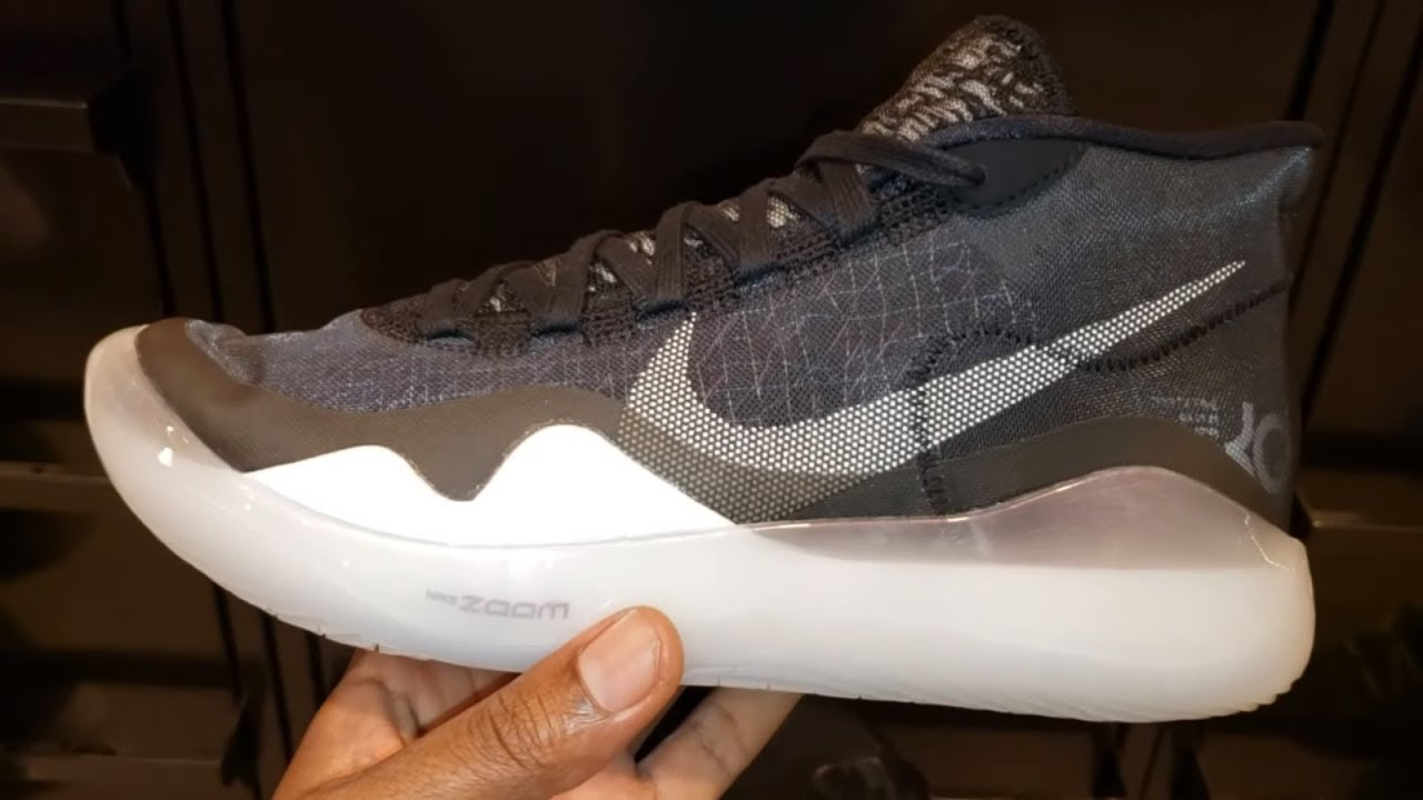79f4117a0d3 KEVIN DURANT S NIKE KD 12  DAY ONE  IN STORE SNEAKER REVIEW - YouTube