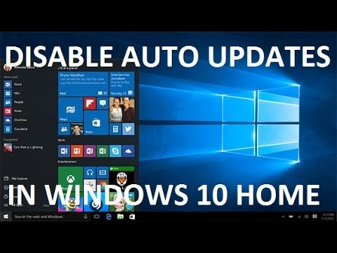 How to Disable Updates in Windows 10 Home