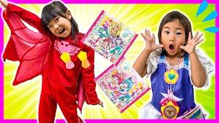 マグマがきた~! 床が溶岩! 助けてスーパーヒーロー! スター☆トゥインクルプリキュア グミ Floor is Lava Challenge