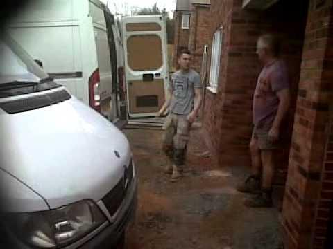 plasterer gets battered