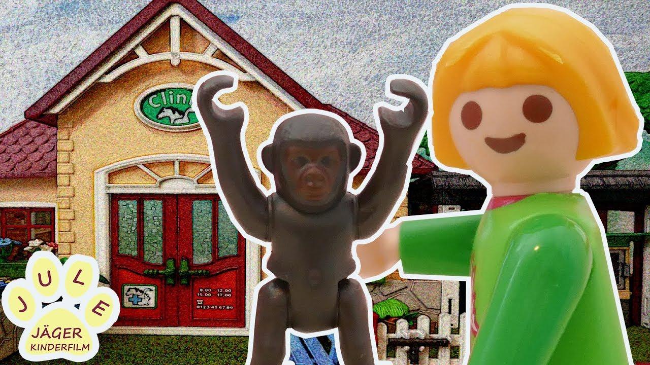 Playmobil Film Deutsch Das Kranke Gorillababy Tierarzt Doktor