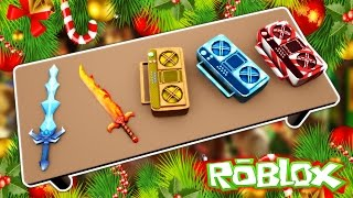 crafting tutorial new mm2 update   mm2 christmas event
