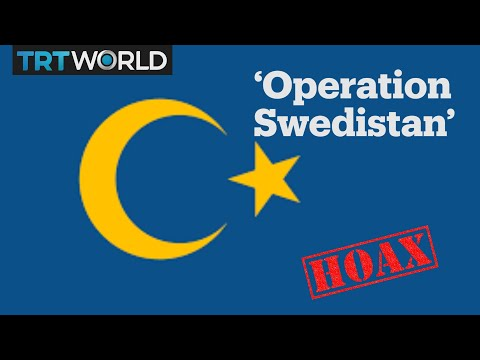 Campaign to change the Swedish flag turns out to be a hoax