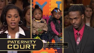 Love Triangle Resulted in Twins (Full Episode)   Paternity Court