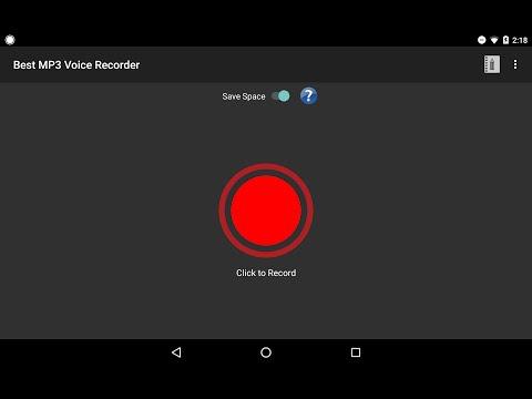 Best MP3 Voice Recorder