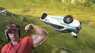 EPIC JUMPING and FLYING machines - BeamNG Drive