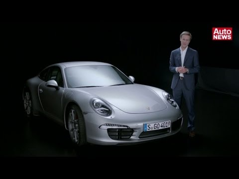Neuer Porsche 911 - Design-Statement mit Michael Mauer