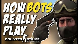 HOW BOTS REALLY PLAY CS:GO (Decoy Kill, Knife kills, PreFire Kills)