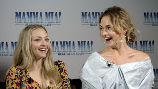 Which 'Mamma Mia: Here We Go Again' cast members are the best singers?