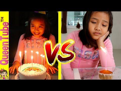 วันเกิดของน้องควีน สิ่งที่คาดหวัง Vs. ความเป็นจริง | Birthday Expectation Vs. Reality Fun for  Kid
