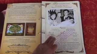 Родословные книги: подарочные книги(Родословные книги - летопись рода, которая будет передаваться из поколения в поколение. Подарочные родосло..., 2014-10-07T20:24:33.000Z)