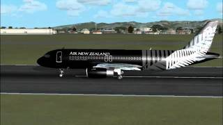 Air NZ A320-200 CHC-WLG