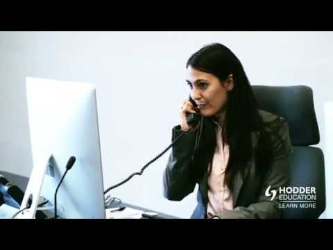 Hodder Education Business Administration NVQ course video produced by MTJ Media
